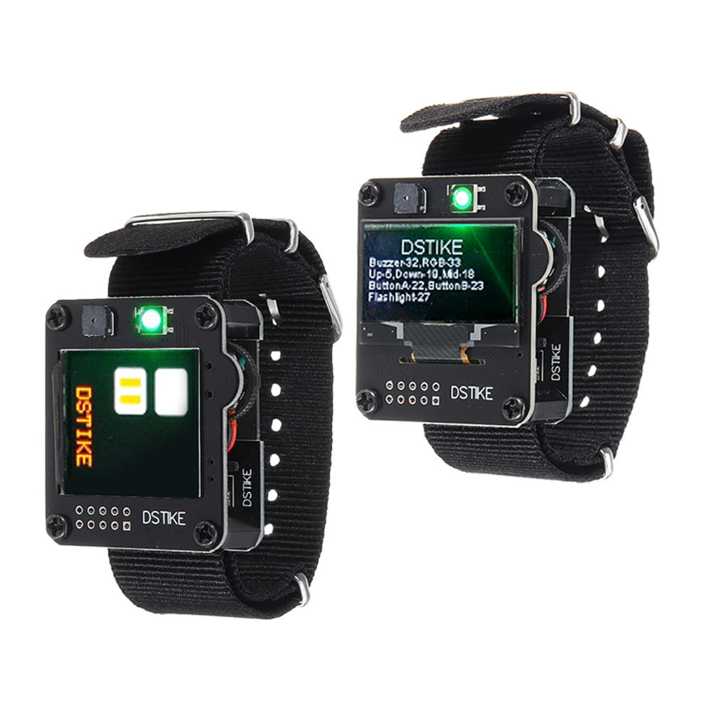 OLED/TFT Color DevKit ESP32 Watch Development Board DSTIKE for Arduino - products that work with official Arduino boards