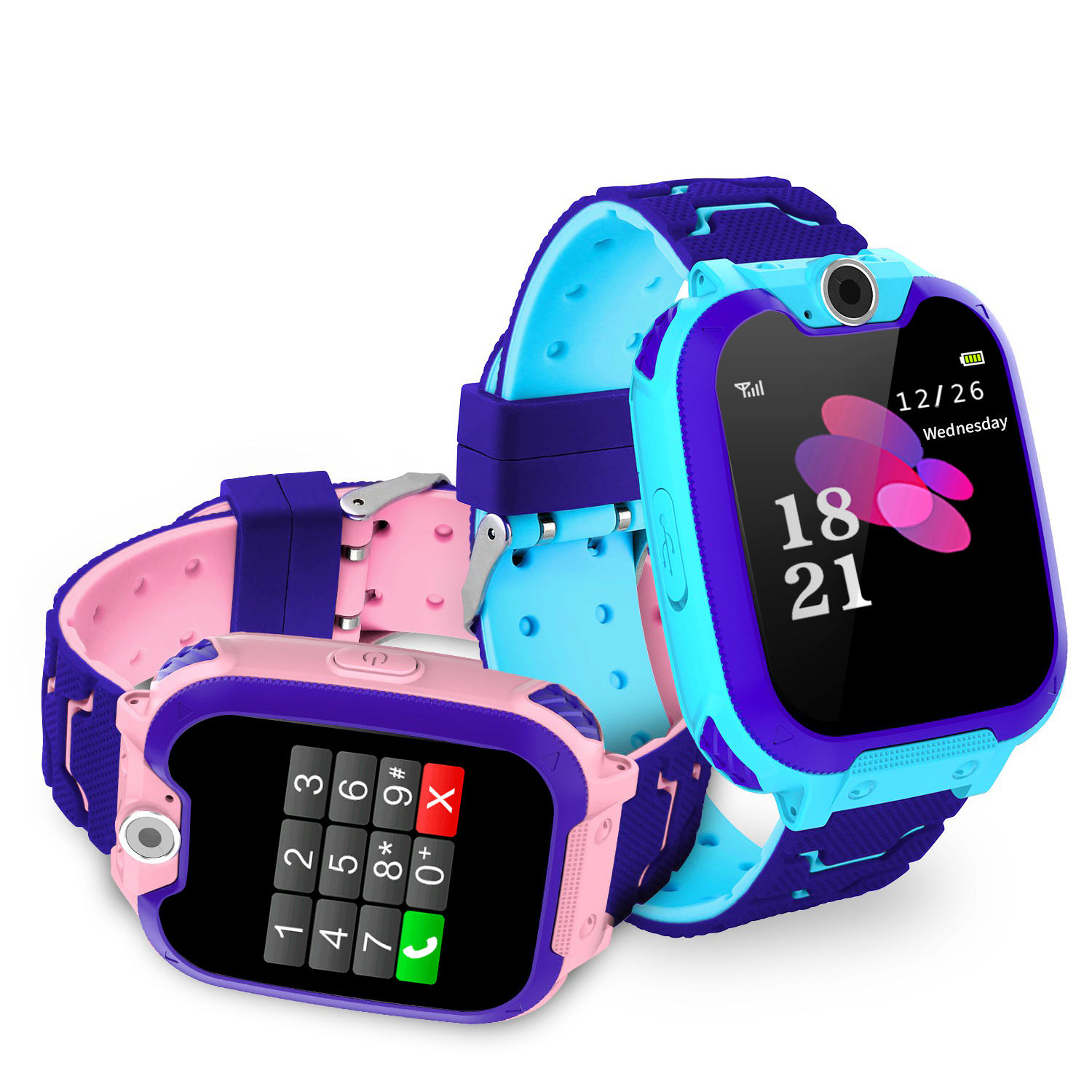 Bakeey S11 1.54' GSM Location One-key SOS Camera Music Player 480mAh Large Battery Kids Watch Smart Watch
