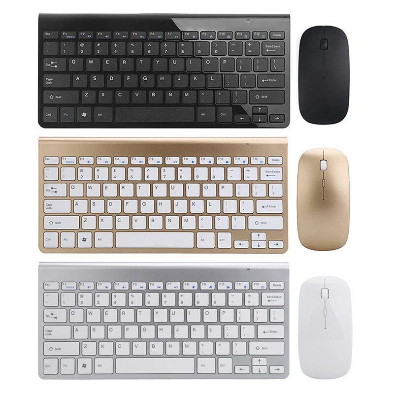 Mini 2.4 G Wireless 78 keys Keyboard and Mouse Kit Set For PC Windows Laptop