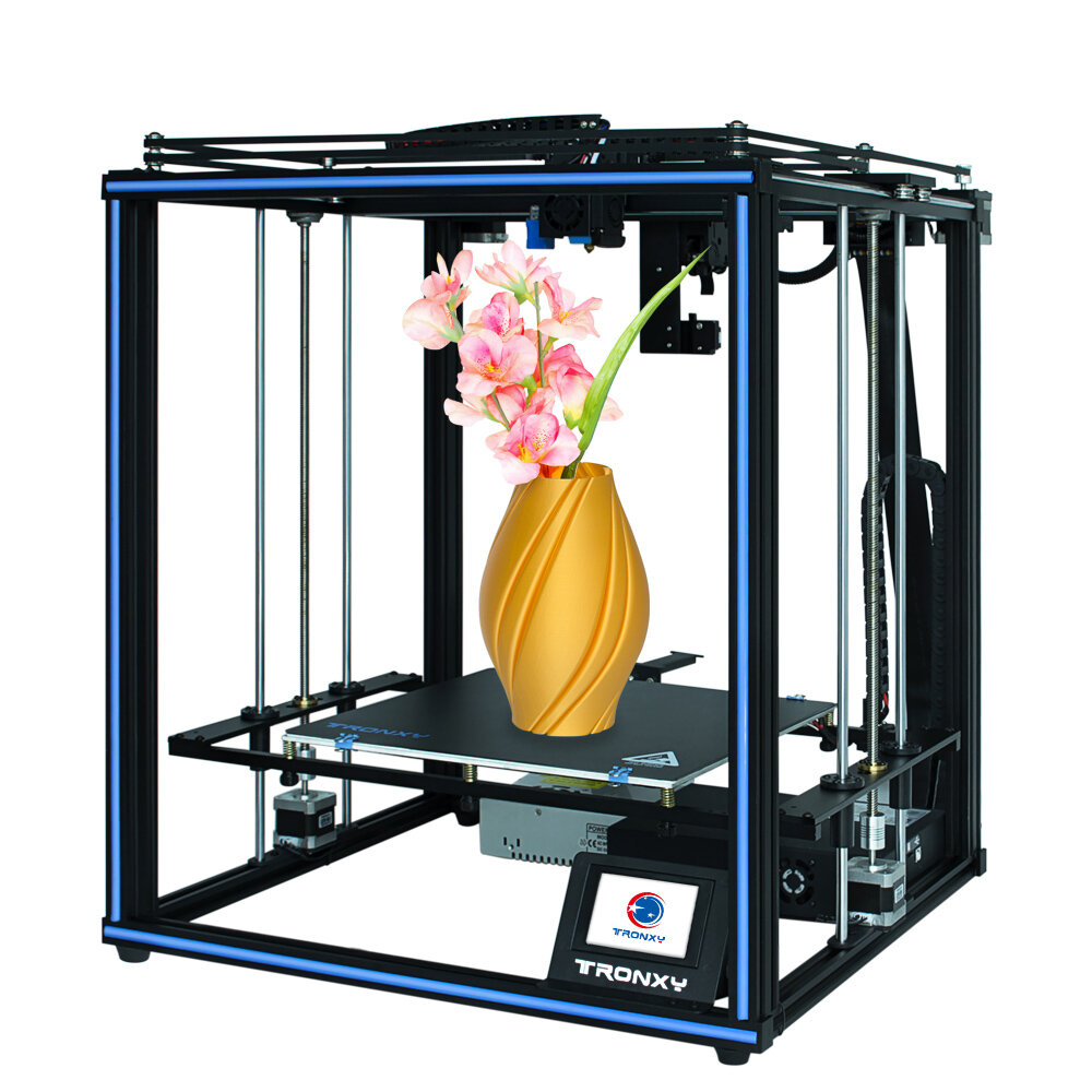 TRONXY® X5SA- PRO CoreXY Desktop DIY 3D Printer Kit 330*330*400 Print Size with OSG Dual-Axis/Titan Extruder Support Auto-leviling/Power off Resume/Filament Run-out Detection