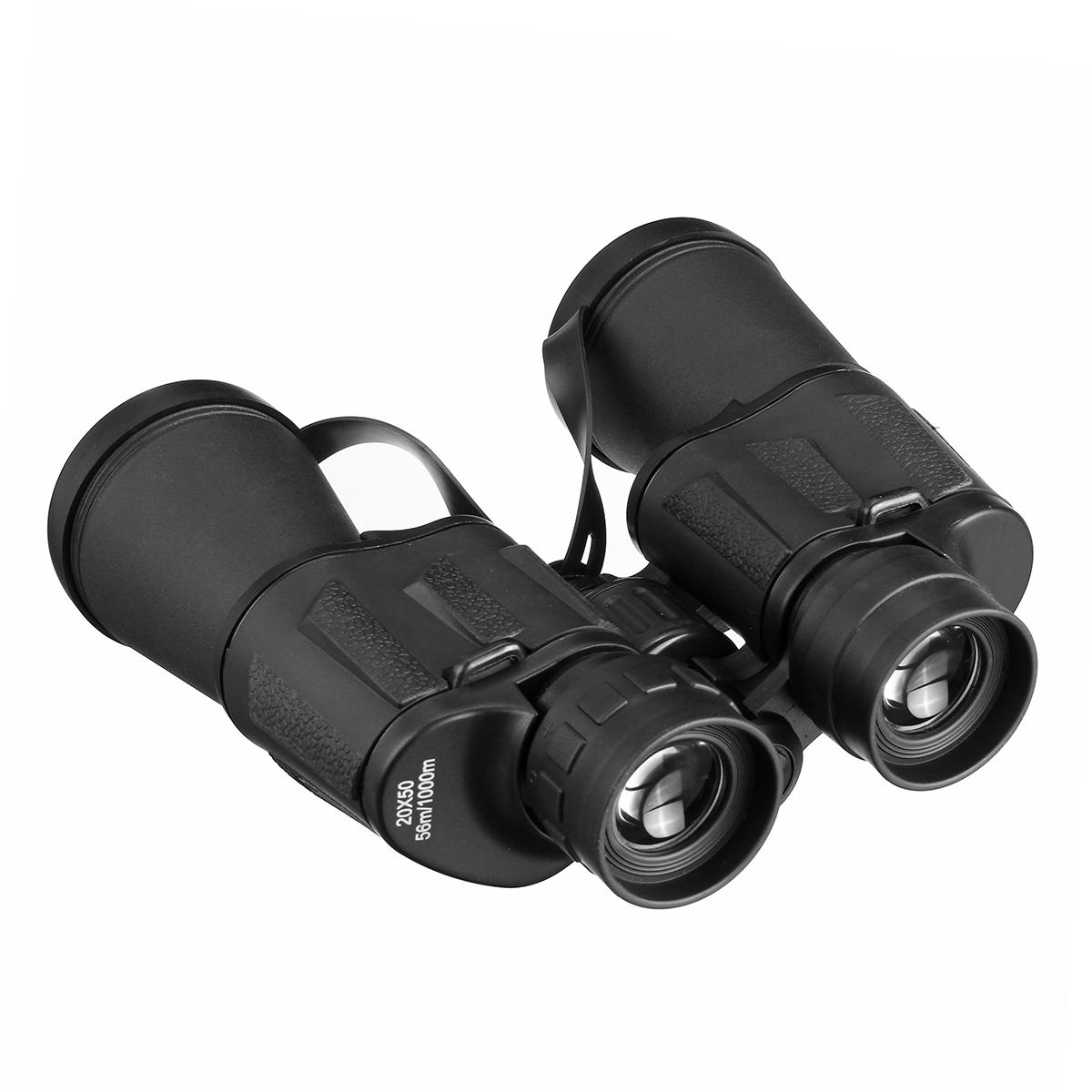 20X50 HD BAK4 Bipods Binoculars Portable Night Vision Telescope For Outdoor Hunting Optics - 4