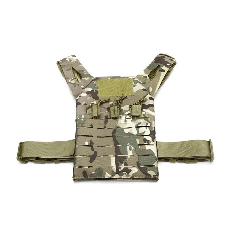 ZANLURE Kinder Tactical Vest Amphibious Forces Molle Weste Outdoor Jagd Angeln Training Weste - 6