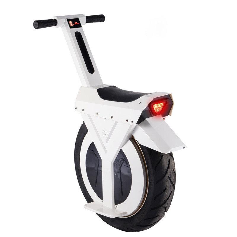 MACWHEEL D2 60V 7.8Ah 500W Self-Balancing Electric Unicycle One Wheel Motorcycle 20km/h Top Speed 30km Mileage Waterproof 17 Inches Vacuum Tyre Max Load 120kg EU Plug