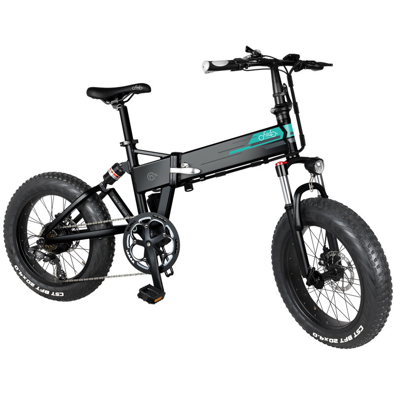 [EU Direct] FIIDO M1 12.5Ah 36V 250W 20 Inches Folding Moped Bicycle 24km/h Top Speed 80KM Mileage Range Electric Bike