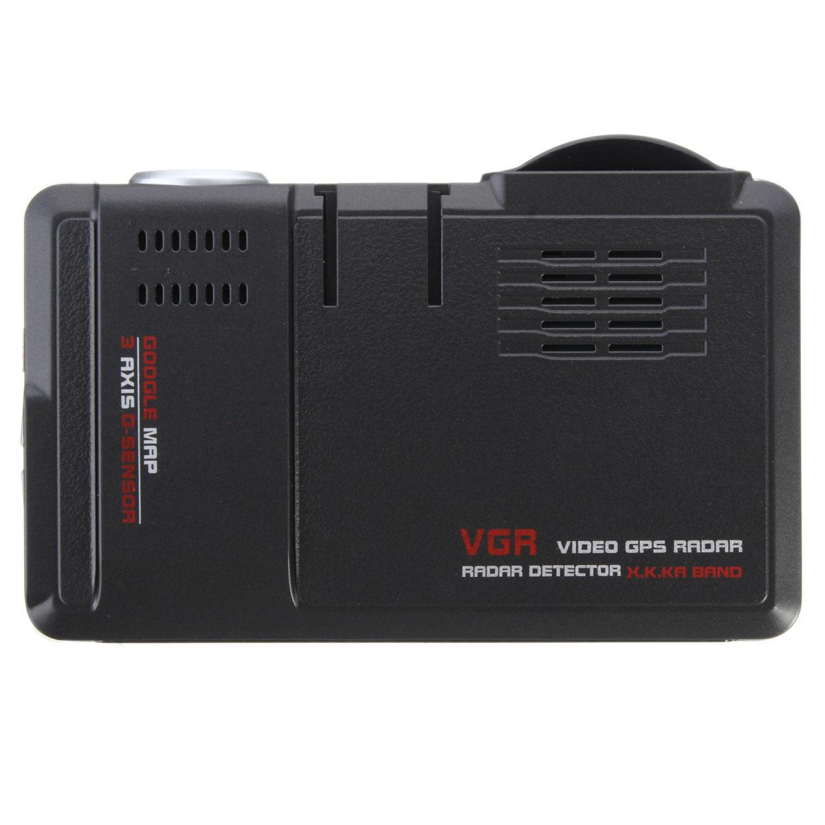 2in1 5MP車DVRレコーダー+レーダーレーザー速度検出器トラフィックアラート