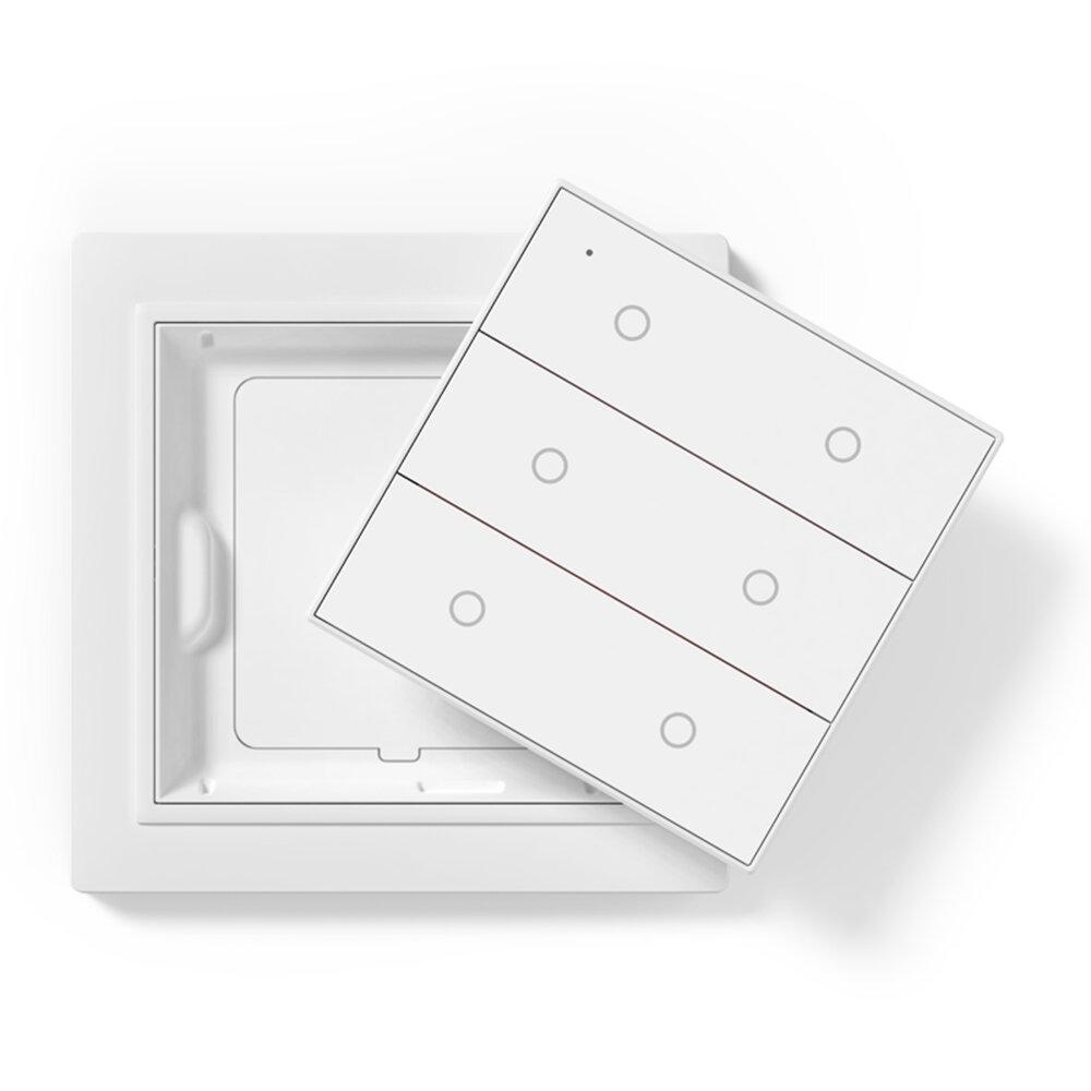 Aqara x OPPLE Zig Bee 3.0 HomeKit Version Wireless Smart Switch Work With HomeKit From Xiaomi Eco-system - 6 Way