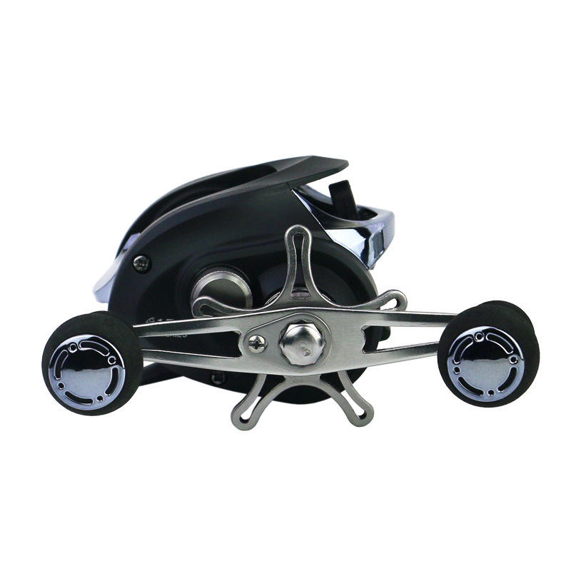 ZANLURE LA200 8.1:1 12+1BB Fishing Reel Left/Right Hand Max Drag 20LB Baitcasting Wheel - 3