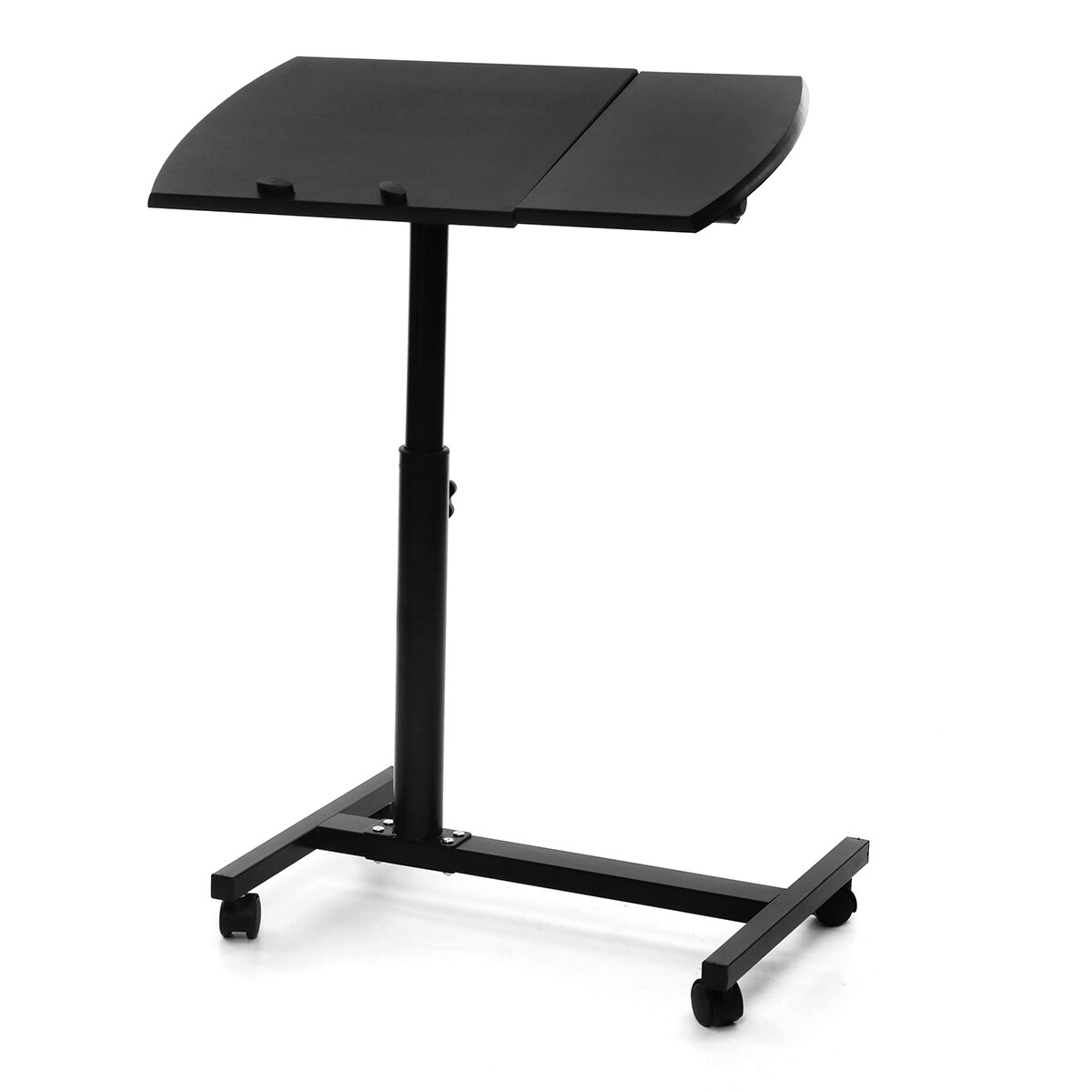 Adjule Height Laptop Stand Rolling