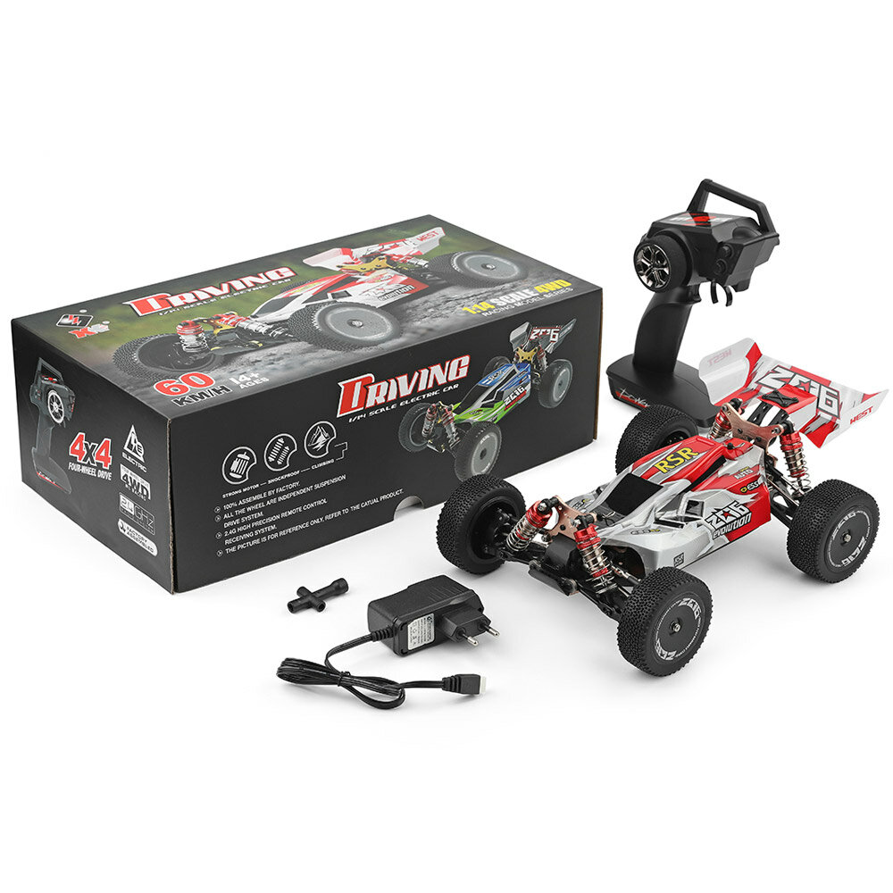 WLtoys A959-B 1/18 4WD Buggy Off Road RC Car 70km/h - 11