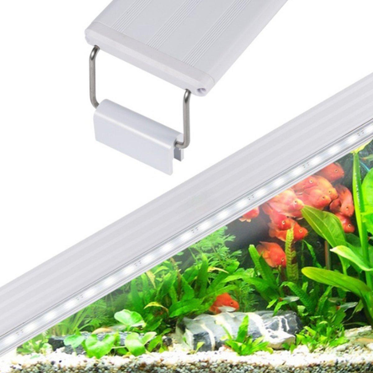 4/6/8W LED Aquarium Light Fish Tank Light Plant Reef Coral Marine Lamp Lighting
