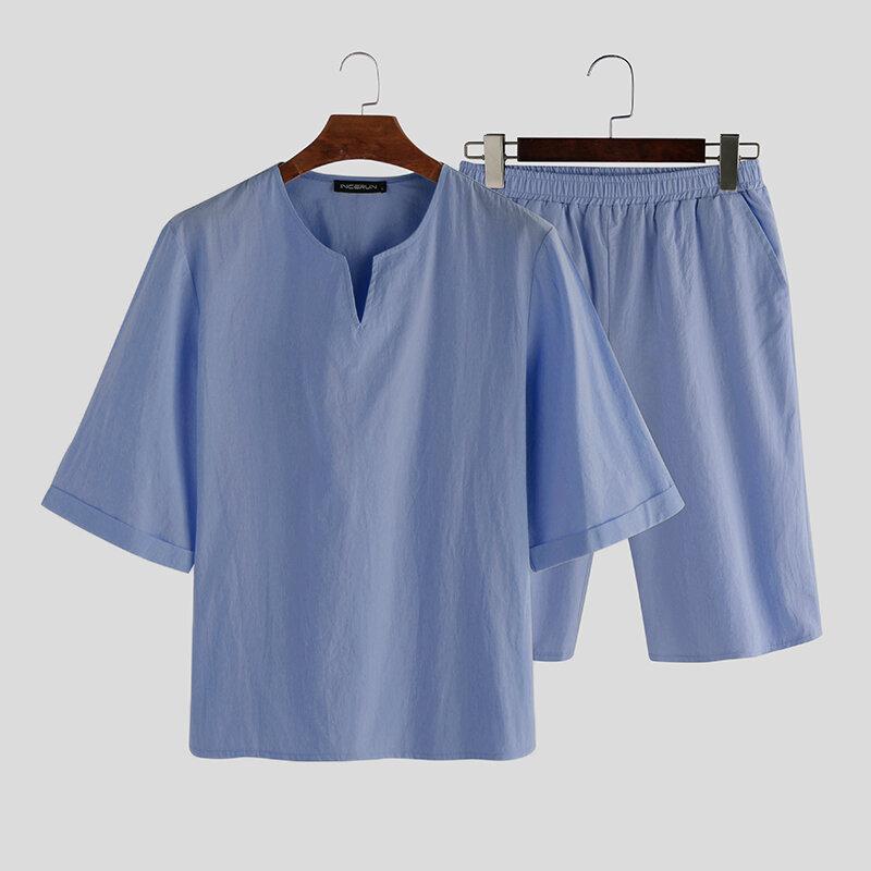 Smooth Silk Lepal Collar Pajamas Set - 12