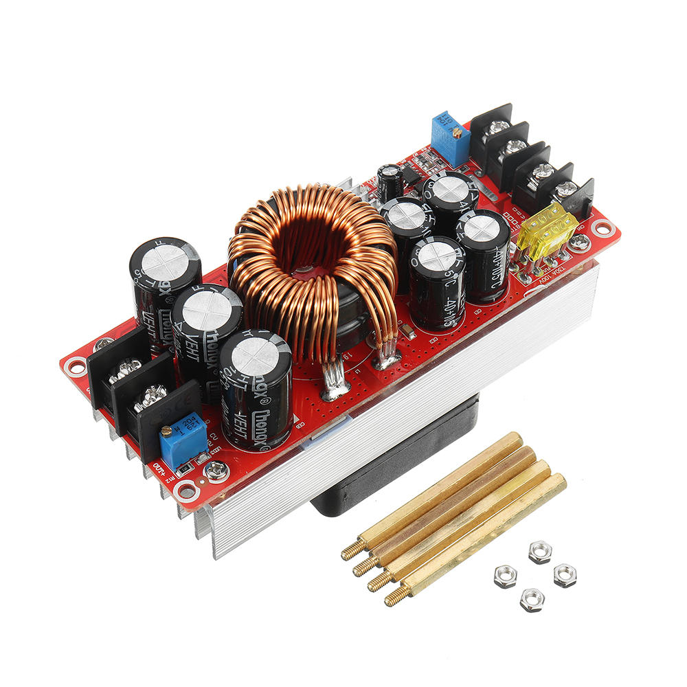 10pcs XL4015 5A High Power 75W DC-DC Adjustable Step Down Module LED Voltmeter Power Supply Module - 1