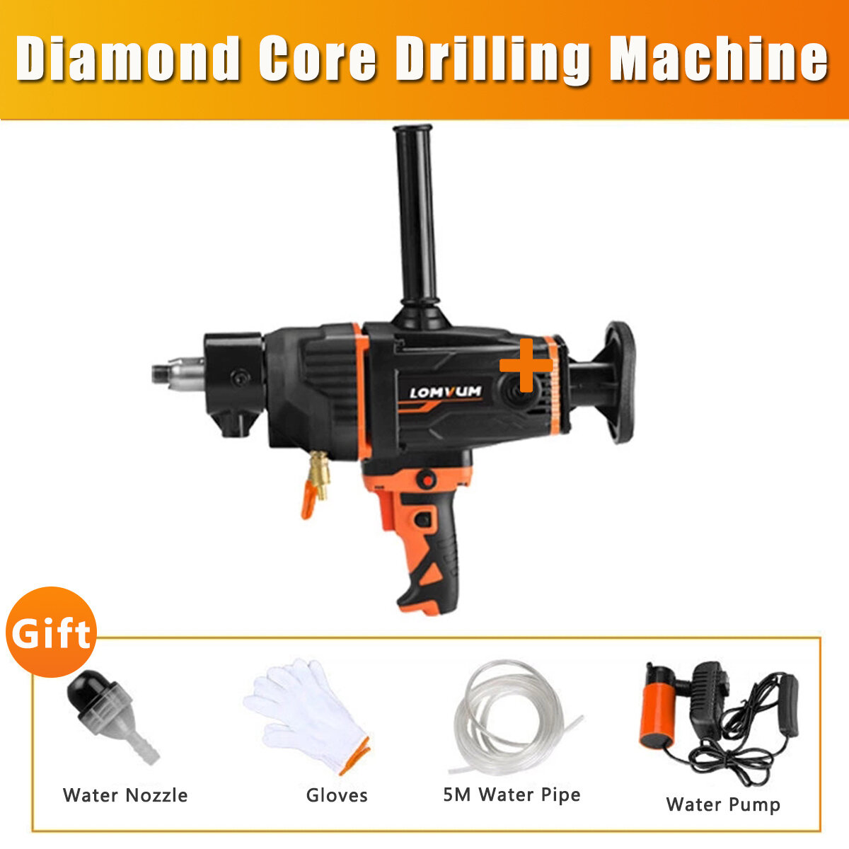 2600W 220V 1800 rpm Diamond Core Hole Puncher  Drilling Machine Infinitely Variable Speed/ 4 Styles