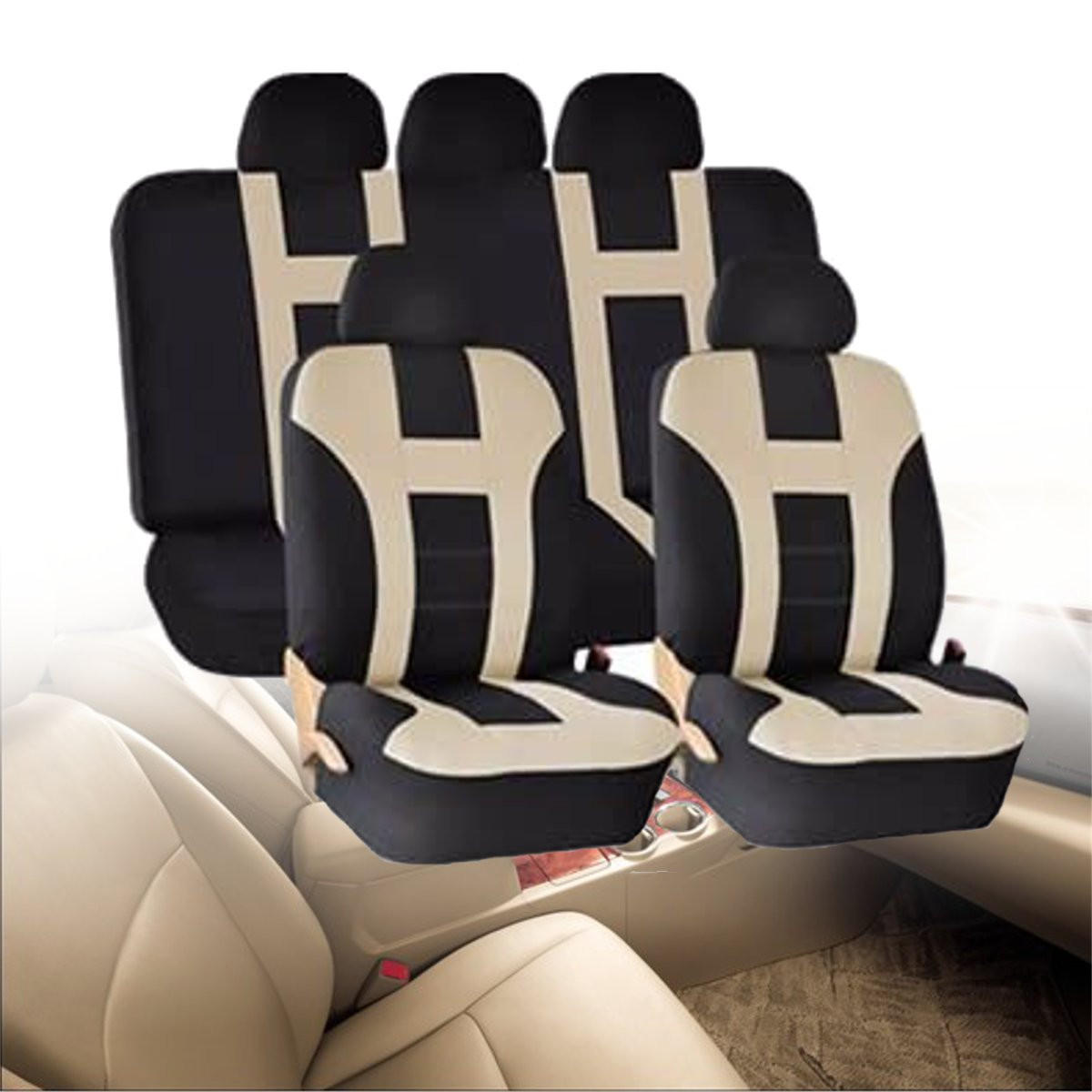 Prime 5M Universal Car Front Seat Back Bench Cover Protectors Full Set Washable Pdpeps Interior Chair Design Pdpepsorg