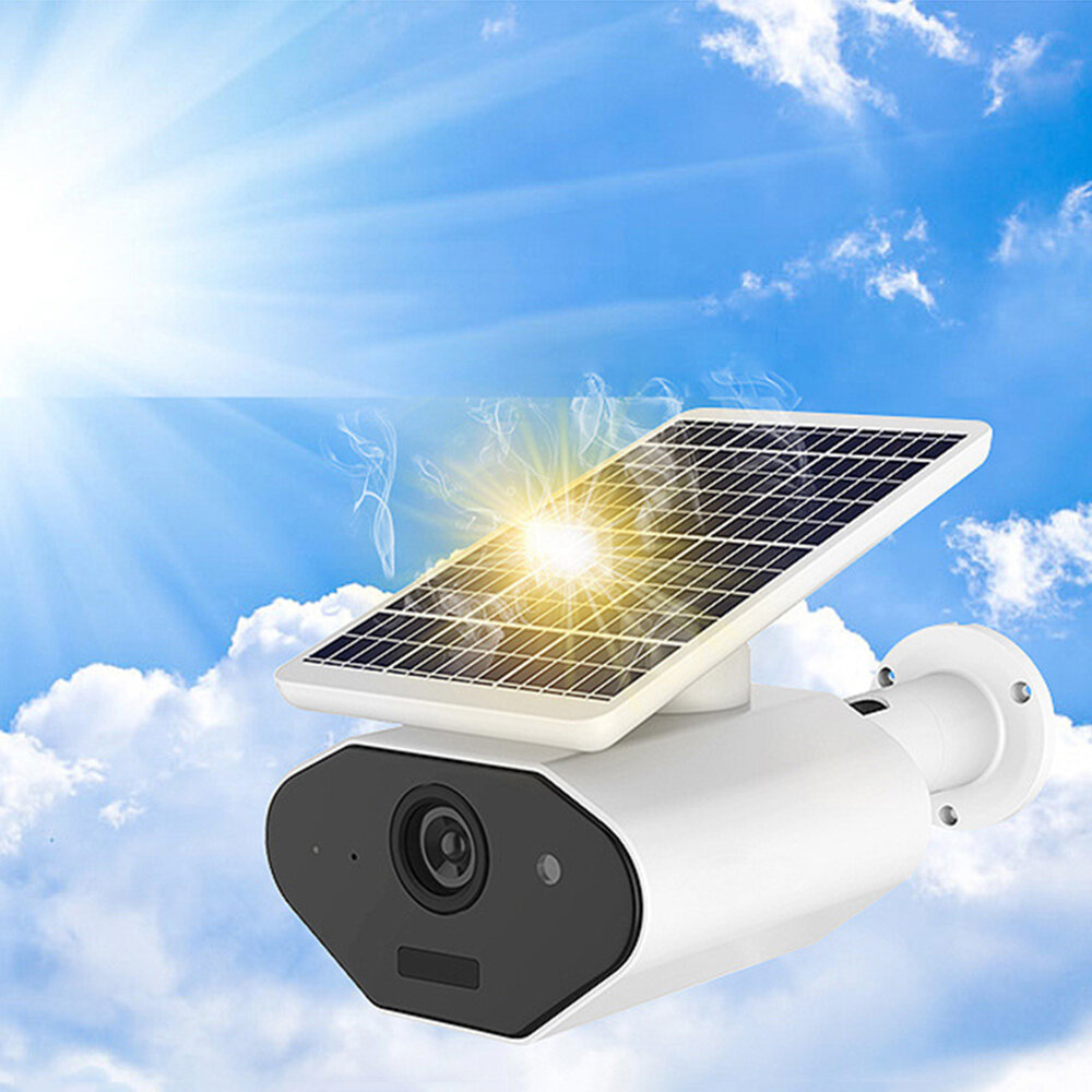 Xiaovv L4 Plus Solar Power & Battery Power Waterproof Wire-free 1080P Low Power IP Camera