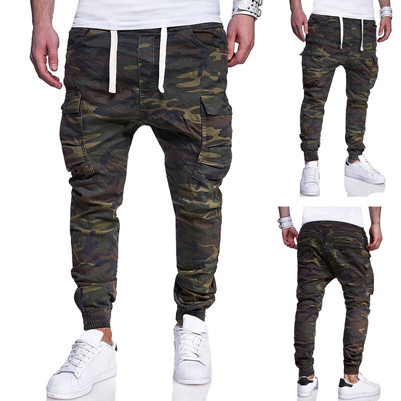 Men Denim Straps Jumpsuit Pocketed Pants - 5