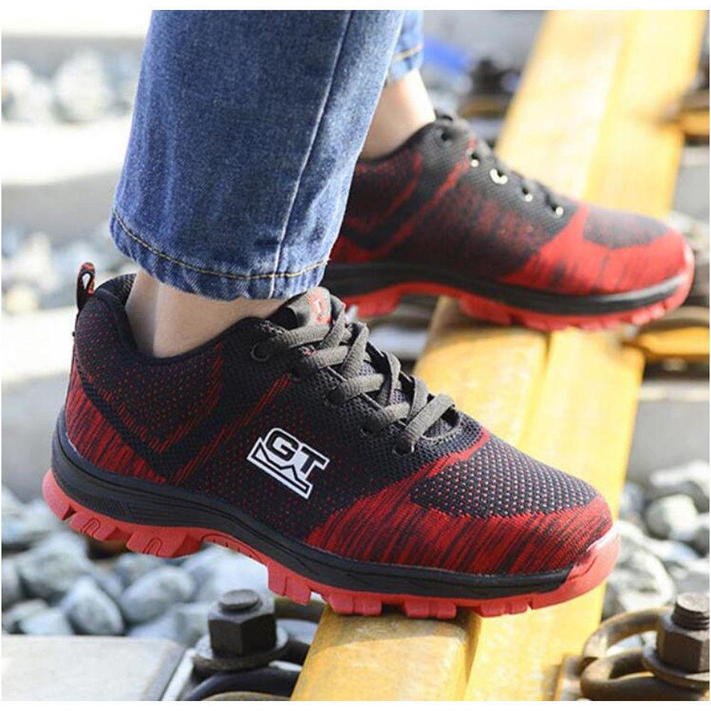 [FROM XIAOMI YOUPIN] Amazfit Men Outdoor Light Shock-absorbing Smart Chip High Elasticity Sneakers Running Shoes - 10
