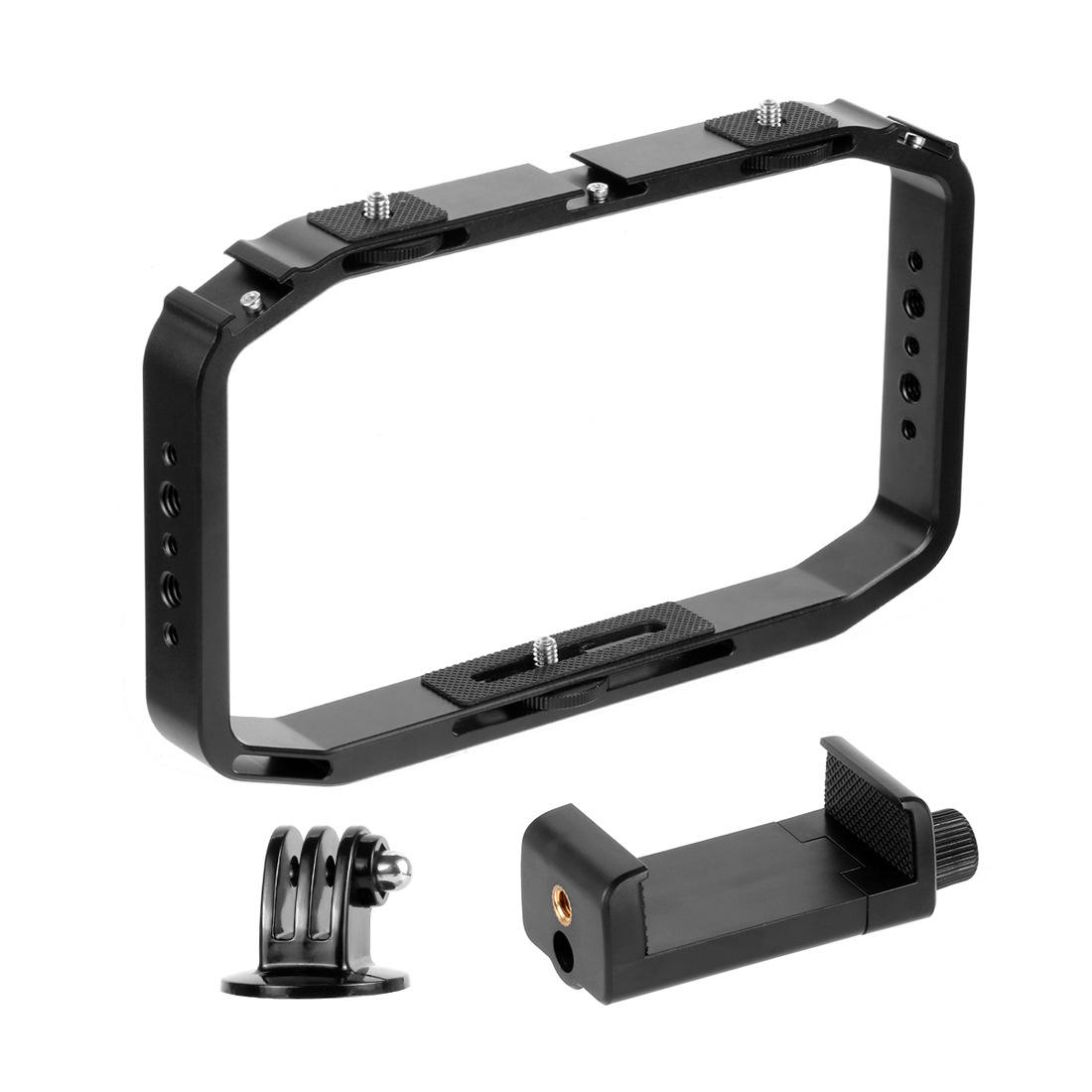 PULUZ PU418 Metal Handheld Stabilizer Rig with Cold Shoe Mount for Smarphone DSLR Camera Action Sports Camera - 3