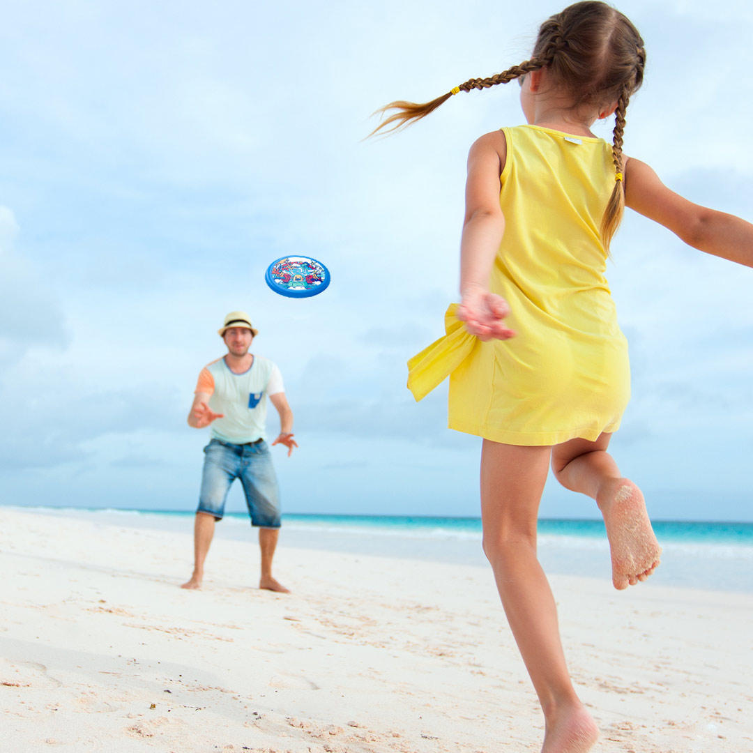 YEUX Buitensporten Soft Flying Disk Outdoor Indoor Familie Game Camping Wandelen Fitness Game Van Xiaomi Youpin - 9