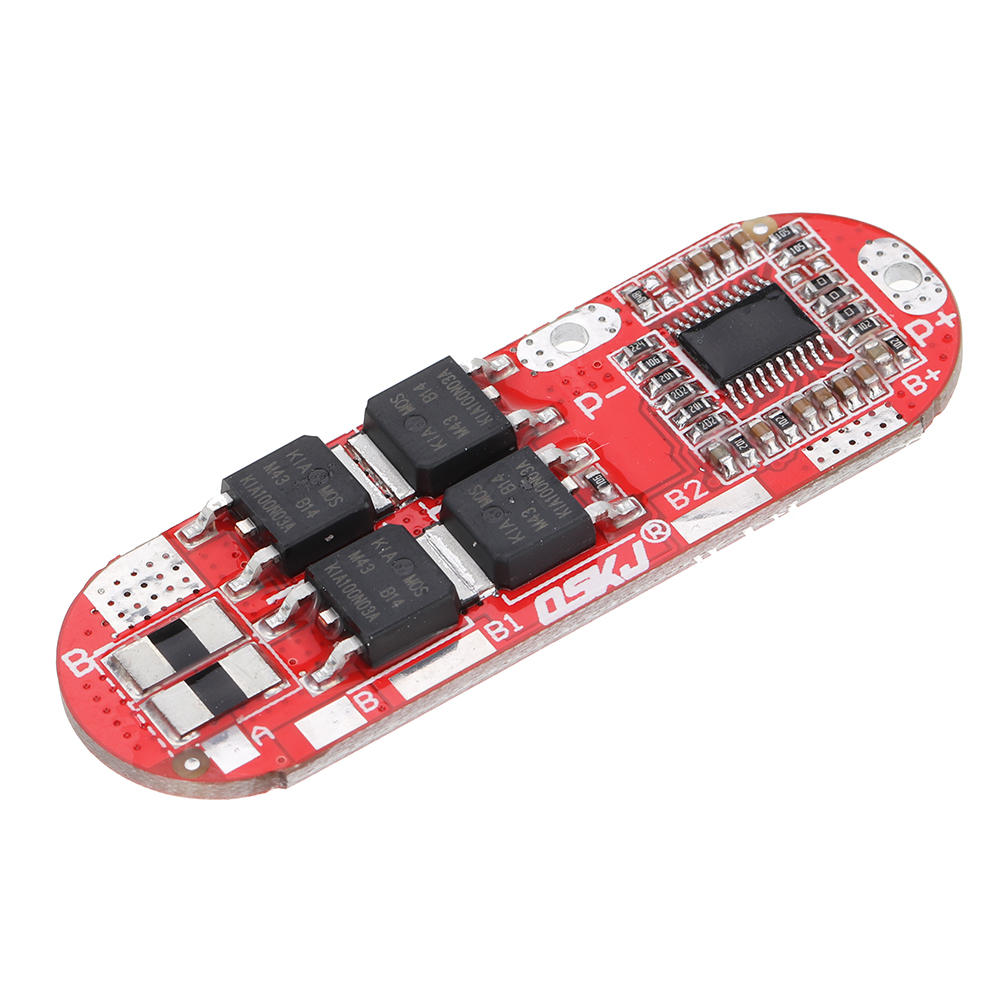 3S BMS 25A 12.6V 4S 16.8V 5S 21V 18650 Li-ion Lithium Battery Protection Board Circuit Charging Module PCM Polymer Lipo Cell PCB