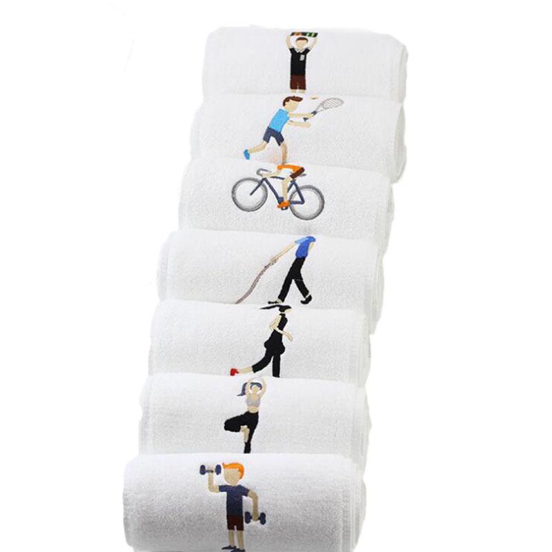 KCASA Cotton Sports Schnelltrocknendes Handtuch Yoga Fitness Handtuch, schweißabsorbierend und schnelltrocknend - 10