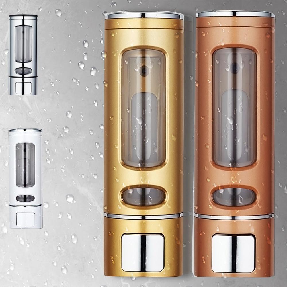 400 ml vægmonteret flydende sæbe køkken badeværelse shampoo dispenser sæbe dispenser