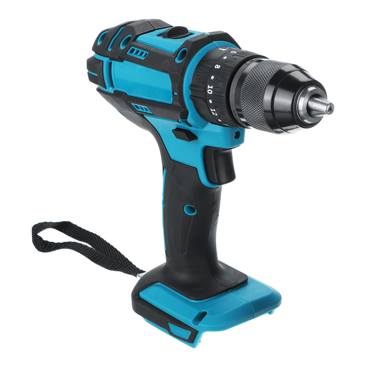 10mm Chuck Brushless Impact Drill 350N.m Cordless Electric Drill For Makita 18V Battery 4000RPM LED Light Power Drills - 6