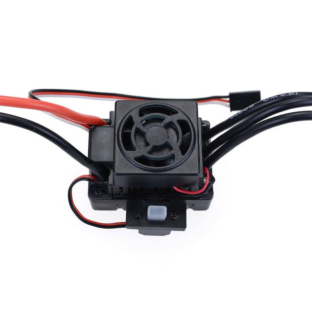 Hobbywing EzRun Max8 v3 150A Waterproof Brushless ESC T/TRX Plug+2200KV Motor For 1/8 RC Car Parts - 9
