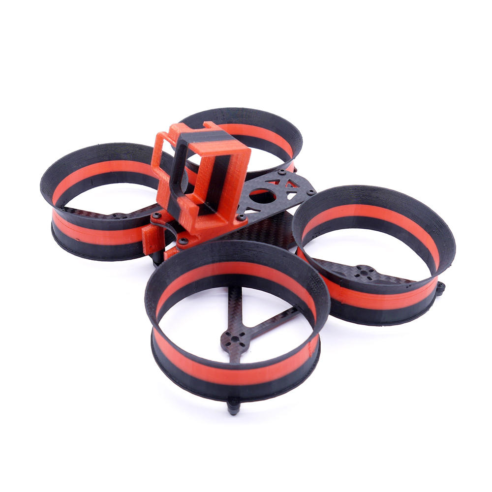 Makaron 3/3.5 Inch 160mm/180mm Wheelbase X Type Frame kit with 3D Printed Duct for RC Drone