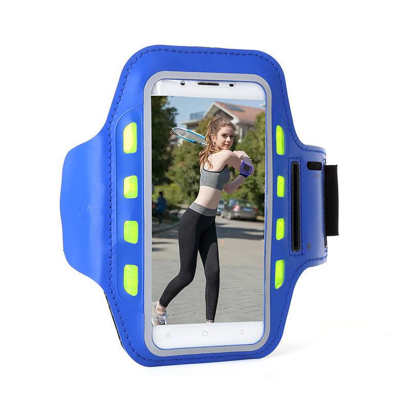 Brazalete deportivo para correr Caso Jogging Gym Brazo Banda Funda para teléfono Bolsa para 4.0-6.5 Inch Teléfono inteligente