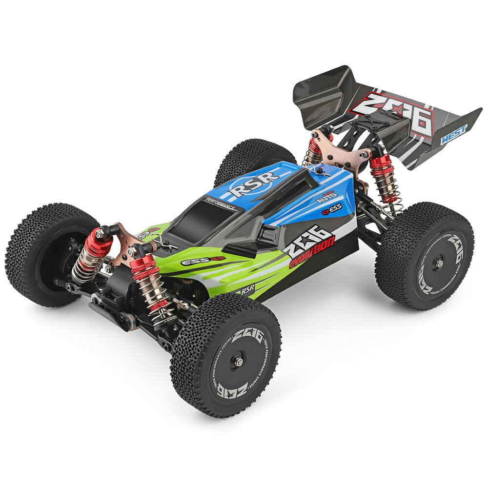 WPL C24 1/16 Kit 4WD 2.4G Military Truck Buggy Crawler Off Road RC Car 2CH Toy - 1
