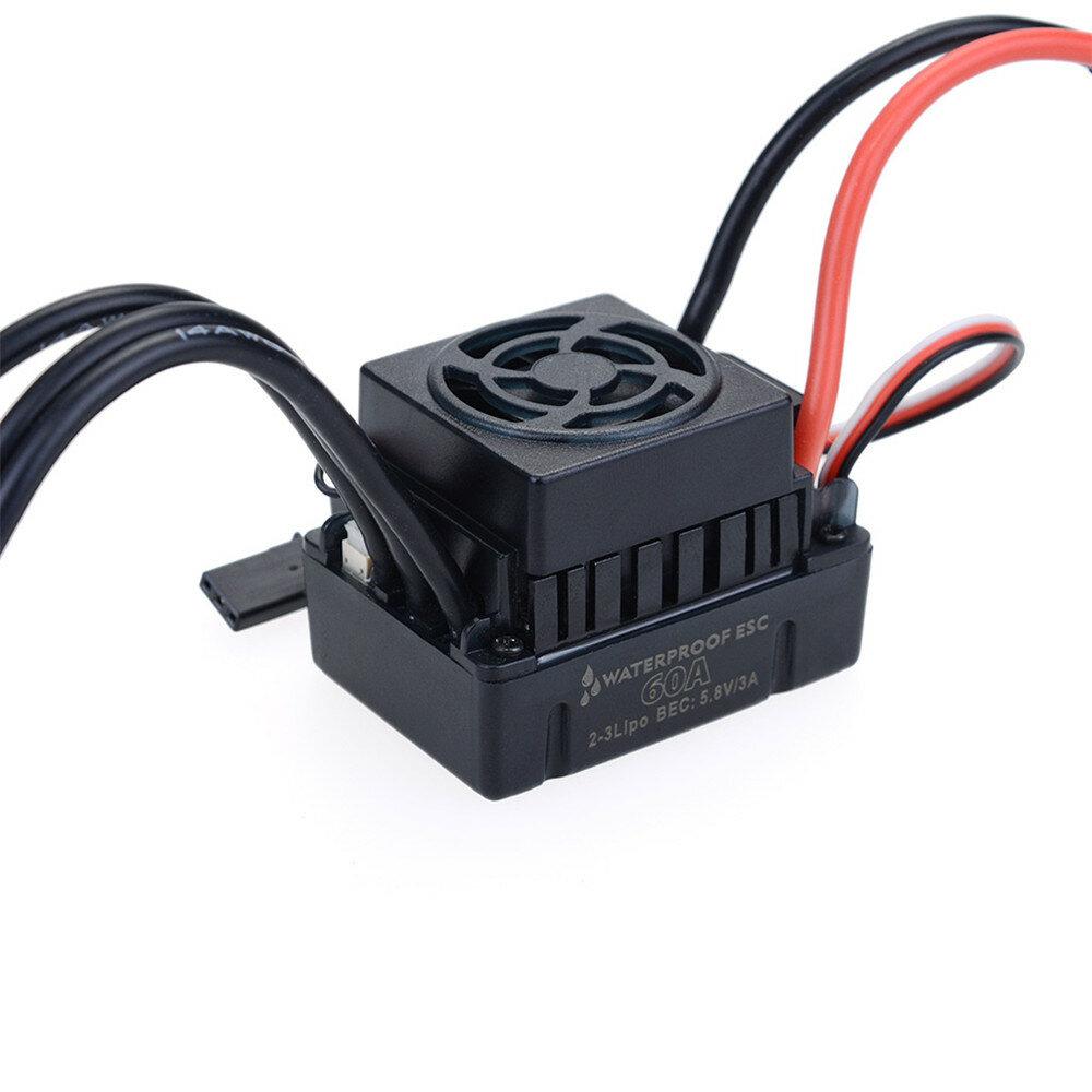 Hobbywing EzRun Max8 v3 150A Waterproof Brushless ESC T/TRX Plug+2200KV Motor For 1/8 RC Car Parts - 7