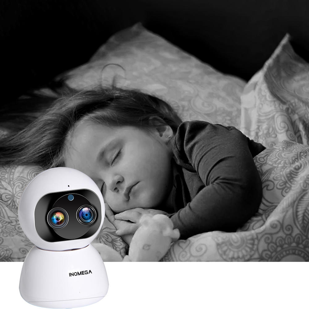 XIAOMI IMILAB A1 3MP HD Baby Monitors 360° Panoramic Wireless IP Camera H.256 Full Color Home Security Device - 7