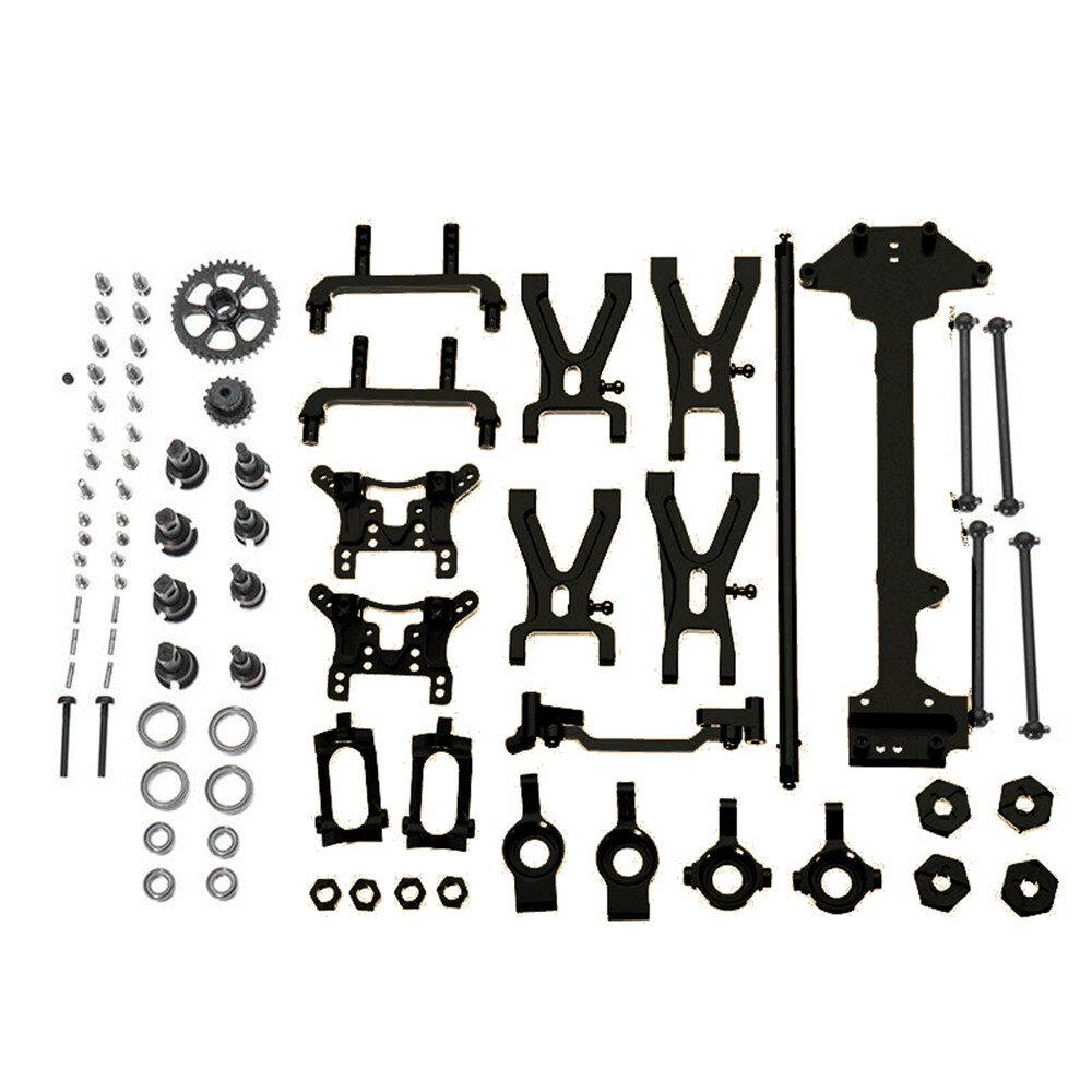 URUAV PY01 för WLtoys 1:18 A949 A959 A969 A979 K929 Uppgraderad metalldelar Kit RC fordon Modell RC bildelar