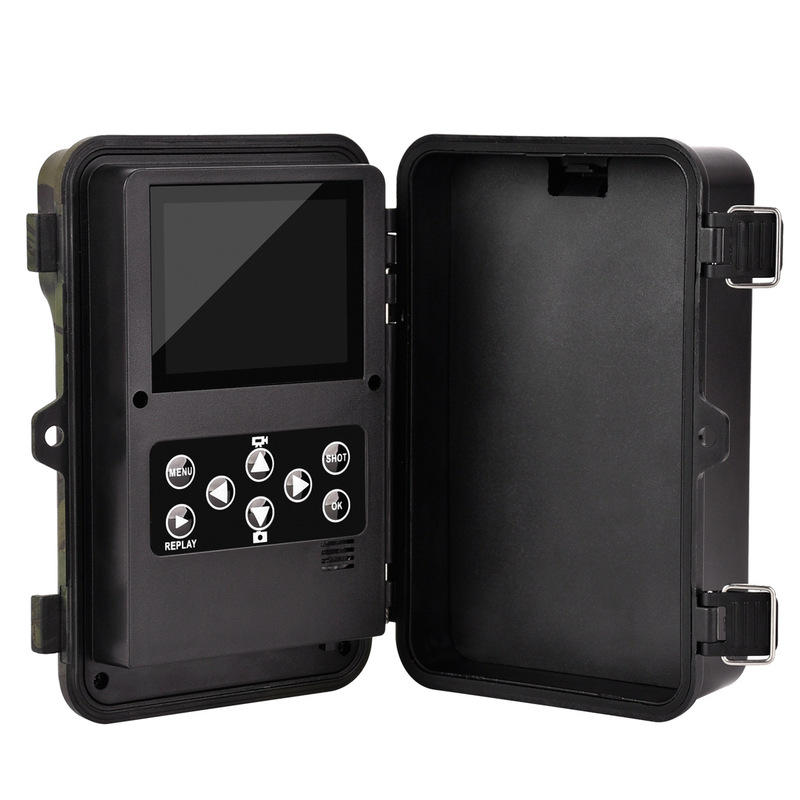 12MP 16Million Pixel 1080P HD Video 940nm Red ID Camouflage Hunting Trail Camera Infrared Night Vision Traps Scouting Motion Detection Animal Photo - 8