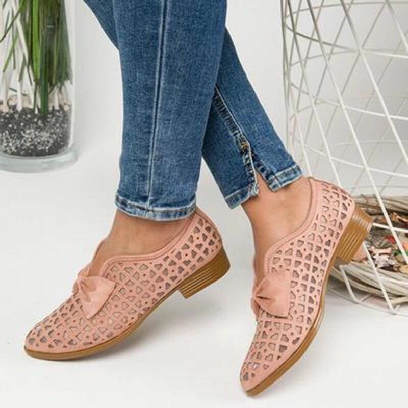 Women Plus Size Comfy Casual Spring Flat Loafers - 1