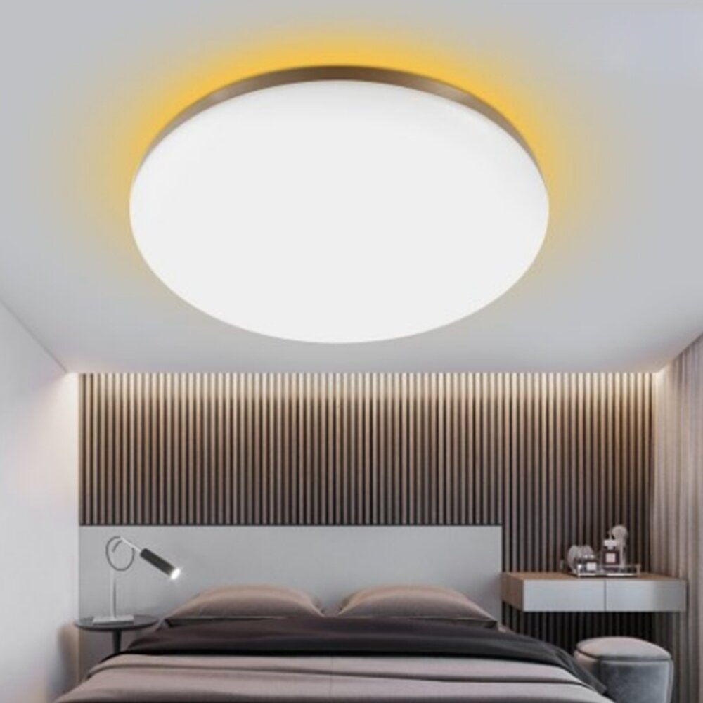 YEELIGHT GUANGCAN YLXD50YL 220V 50W Surrounding Ambient Lighting LED Ceiling Light Upgrade Version Dimmable APP Control Supports HomeKit (Xiaomi Ecosystem Product) Coupon: BGGC50YL €84