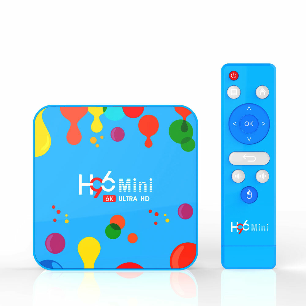H96 MAX RK3318 4GB RAM 64GB ROM 5G WIFI bluetooth 4.0 Android 9.0 10.0 VP9 H.265 4K TV Box Support Youtube 4K - 1