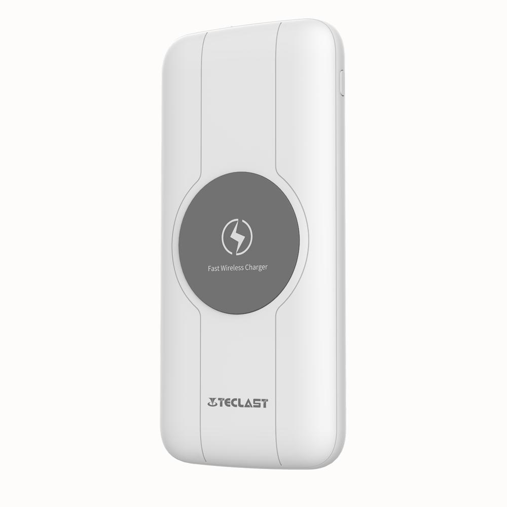 Teclast 10W 7.5W 5W Carga rápida Cargador inalámbrico Power Bank para iPhone X XS Xiaomi Mi9 S10 + Nota 10