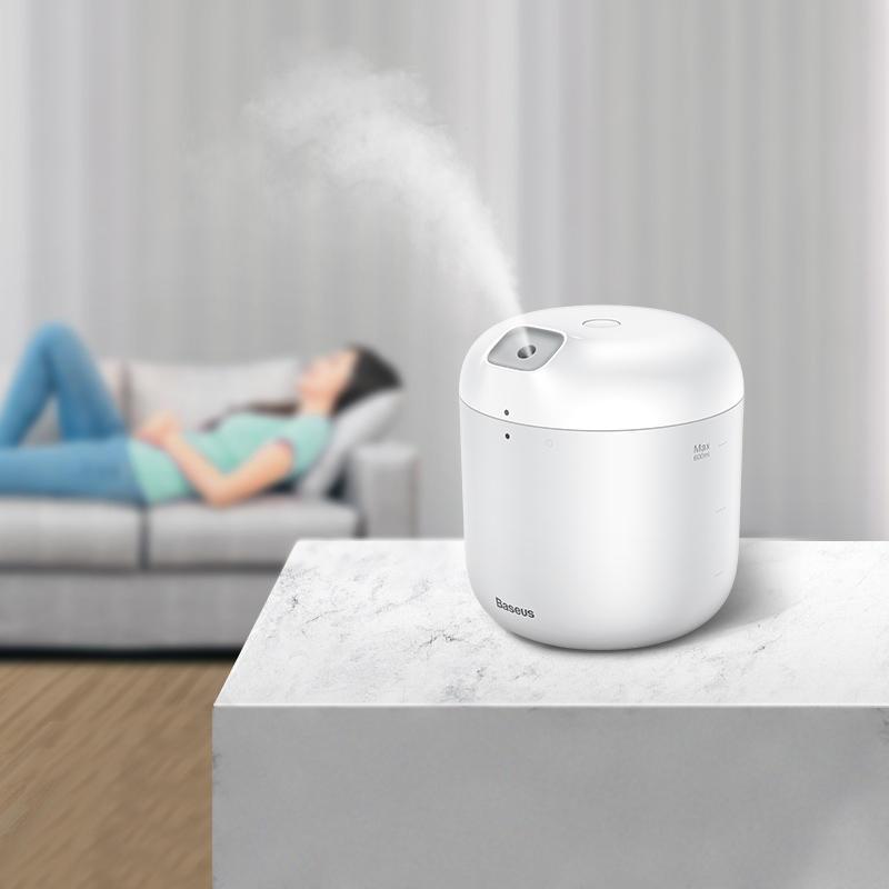Baseus Portable Home Office Humidifier Mute Air Purification Night Light USB Desktop Humidifier