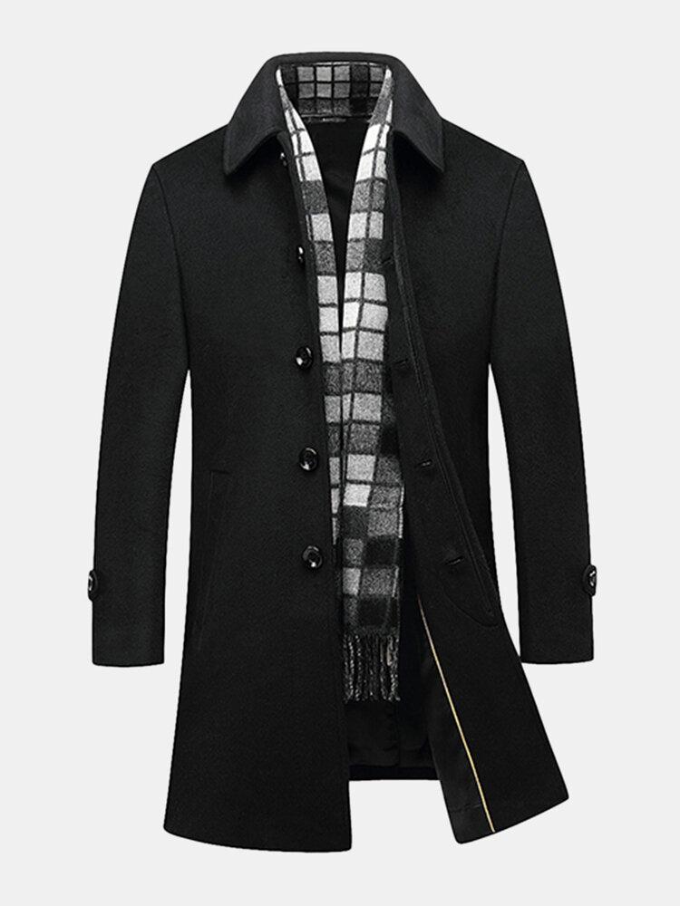 Mens Corduroy Vintage Multi Practical Pockets Warm Jacket - 1