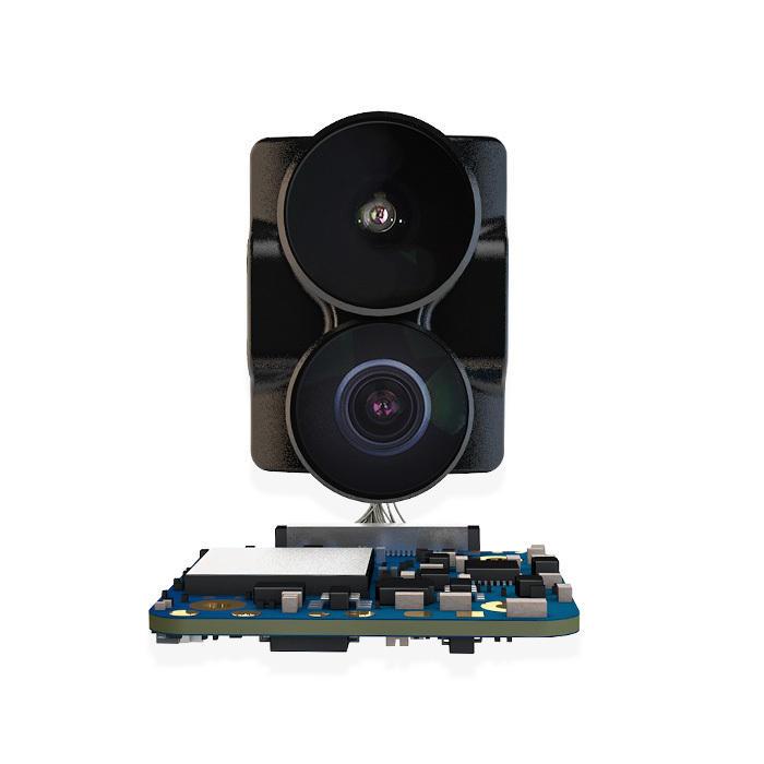 RunCam हाइब्रिड 4K 30fps FOV 145 डिग्री HD रिकॉर्डिंग DVR दोहरी लेंस मिनी FPV कैमरा कम विलंबता एकल बोर्ड आर सी रेसि