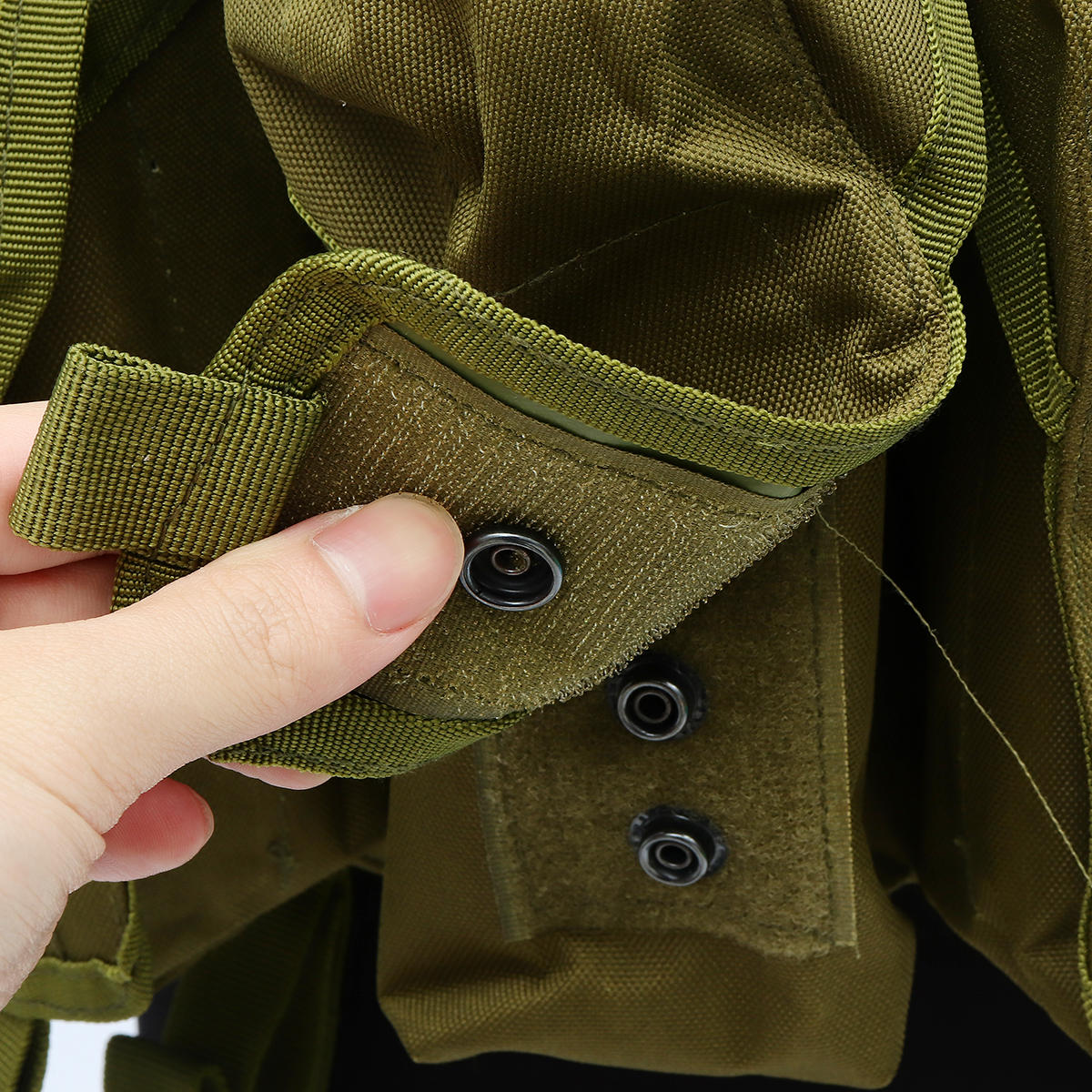 Chaleco táctico unisex al aire libre Combat Game Training Storage Carrier Belly Pocket Vest - 5