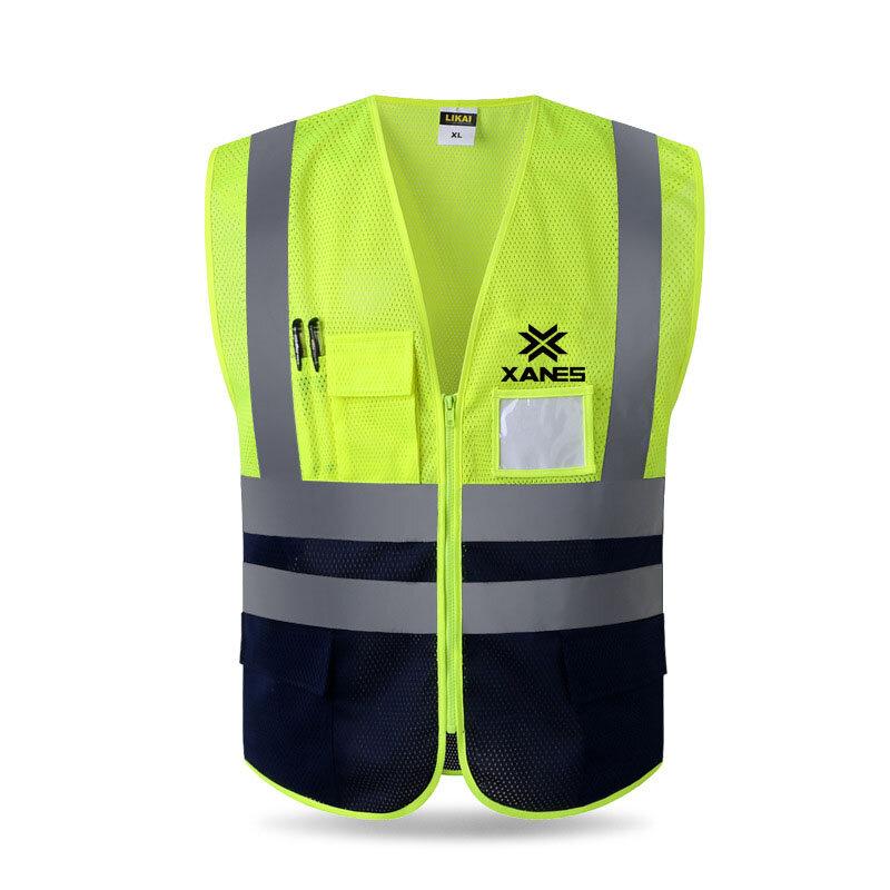 XANES Team Vest Juego de pelota al aire libre Actividades en equipo Equipo deportivo Equipo Trabajo Seguridad Equipo Equipo Chaleco - 1