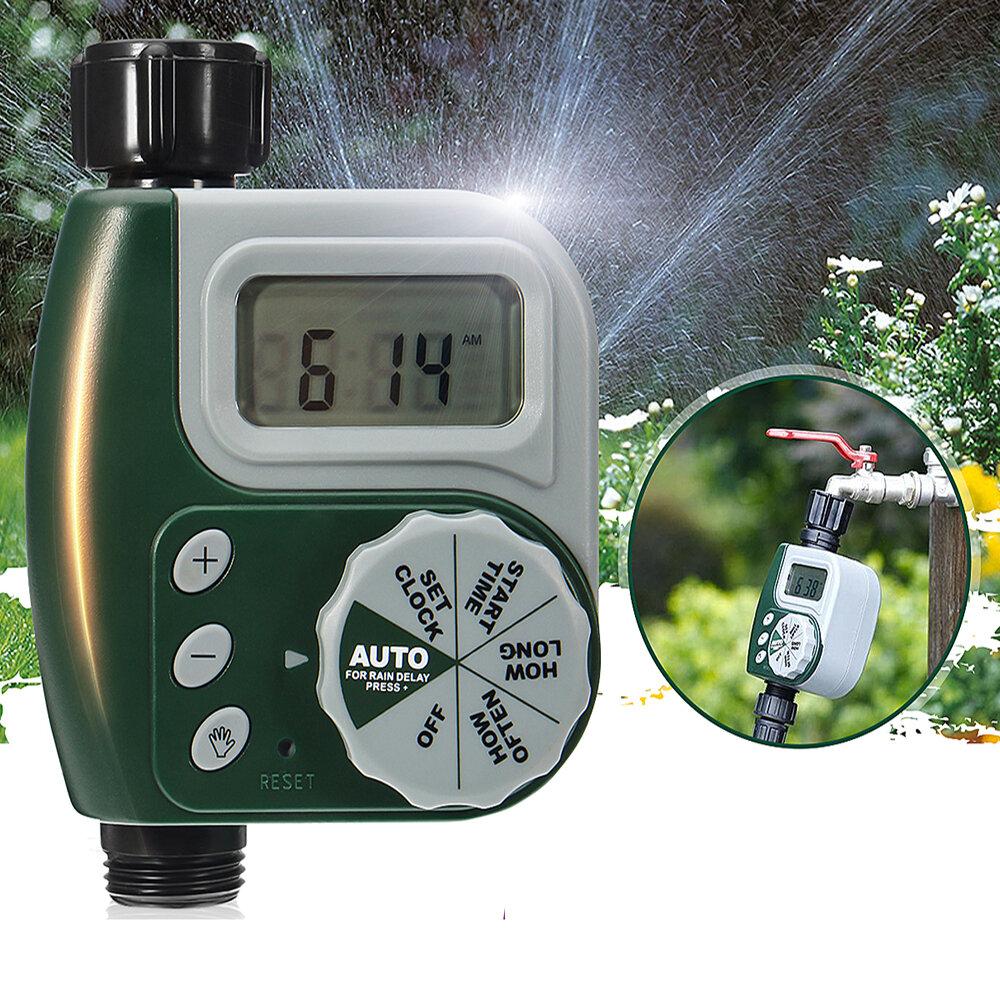 Electronic Water Tap Timer DIY Garden Irrigation Control Unit Digital LCD Irrigation Timer
