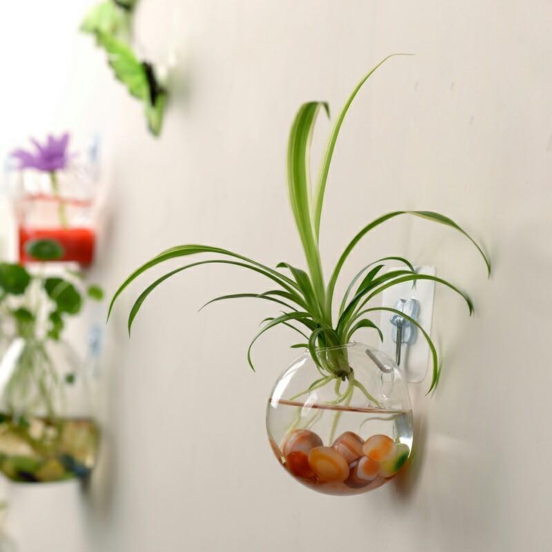 European Glass Flower Vase Floral Holder Wedding Party Home Office Decorations - 4