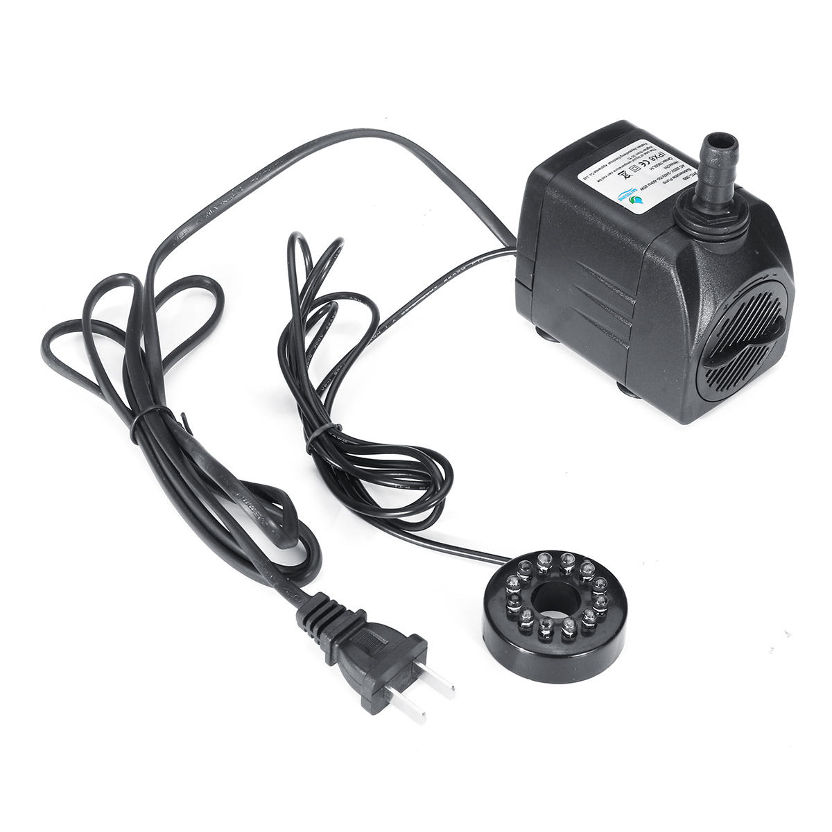 DC 24V Aquarium Fish Tank Pond Submersible Water Pump Controller Flow Adjustable