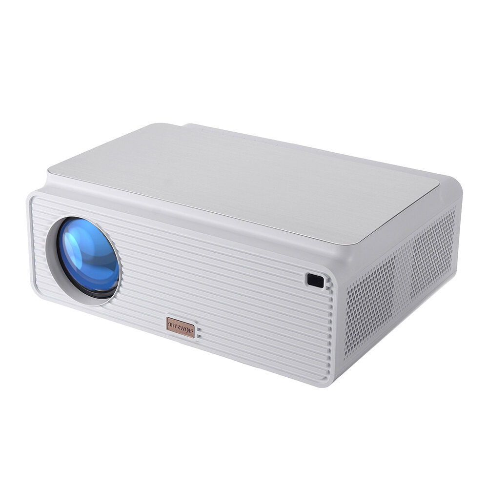 Blitzwolf® BW-VP3 Projector 6500 Lumens Android 8.0 Version 1+16GB bluetooth 4.0 RJ45 LAN 4K Resolution Multiple Ports Built-in Speaker Smart Home Theater Projector