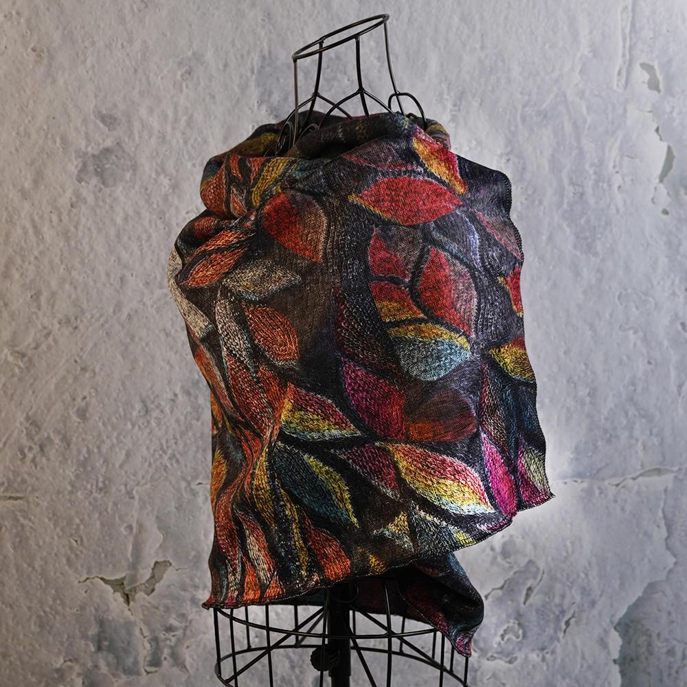 LYZA 190CM Women Autumn Warm Plaid Scarf Long Tassel Scarf Scarves Shawl - 6