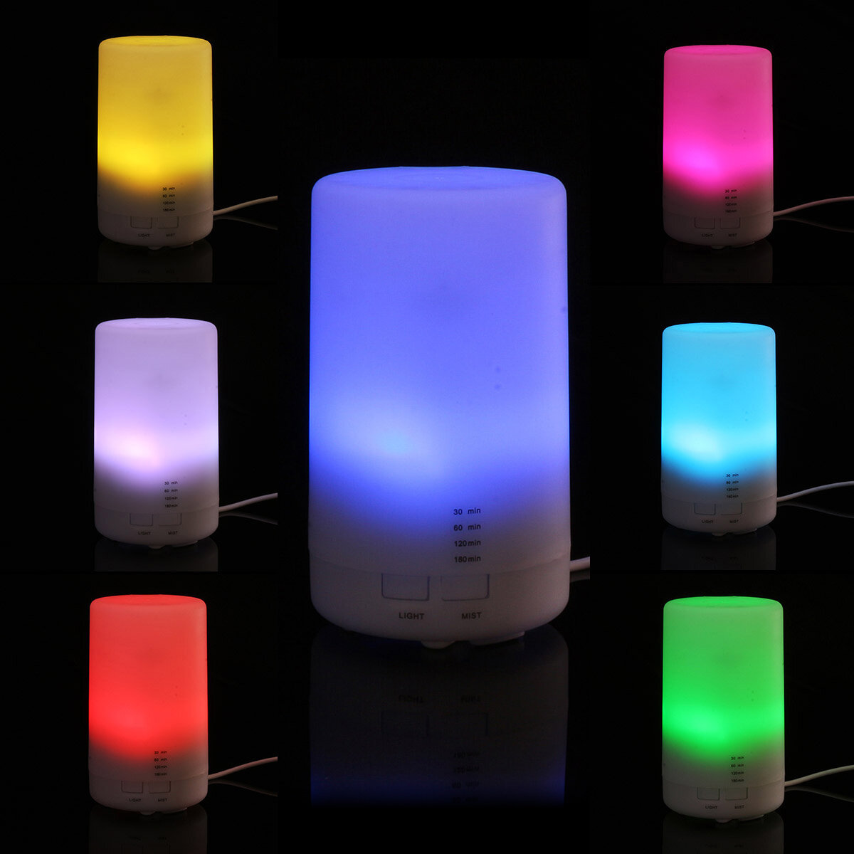 7 LED Ultrasonic Aroma Essential Diffuser Air Humidifier Purifier Aromatherapy Timing Function - 10